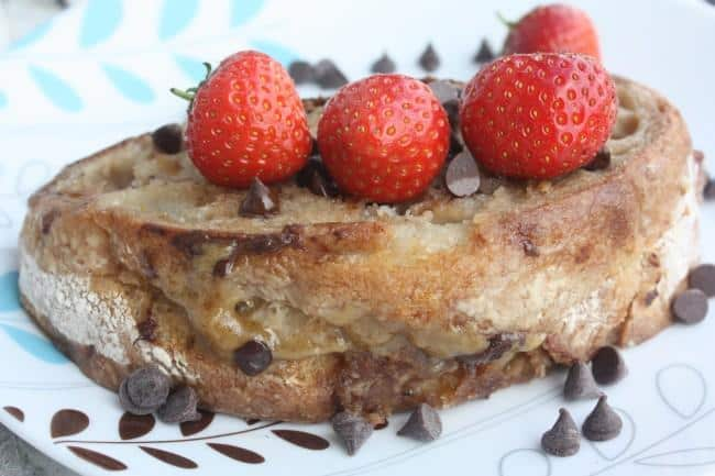 cookie dough french toast