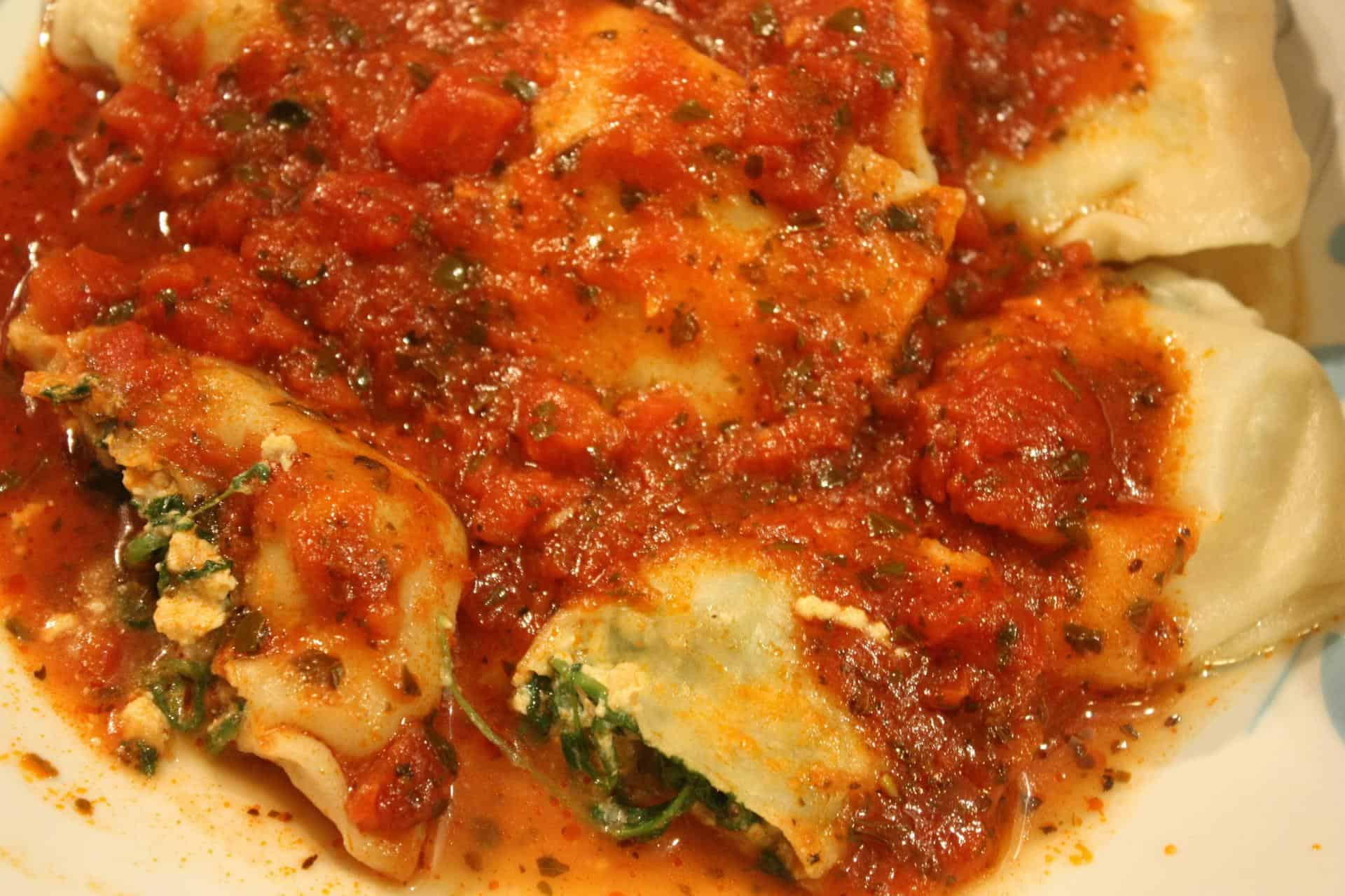 Ravioli With Ricotta And Spinach Recipe — Dishmaps