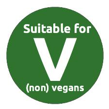 Suitable for non vegans
