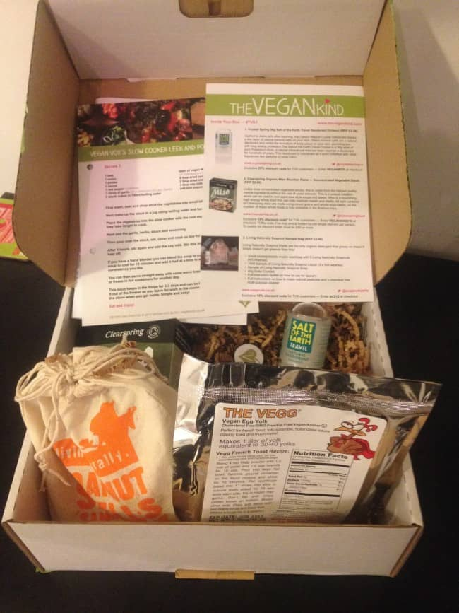 the vegan kind box