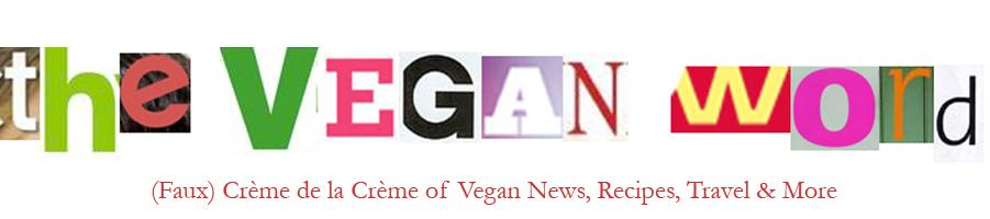 The Vegan Word header image