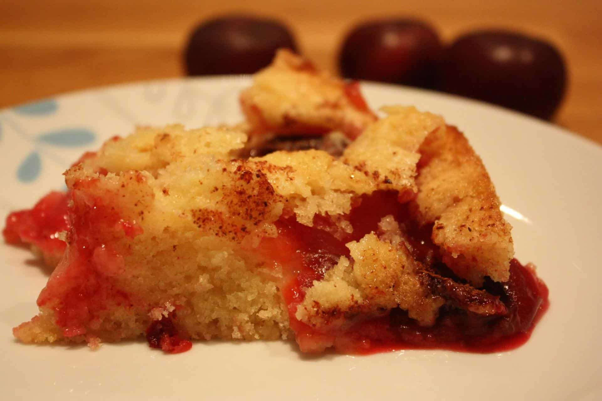The most famous plum cake ever, made vegan