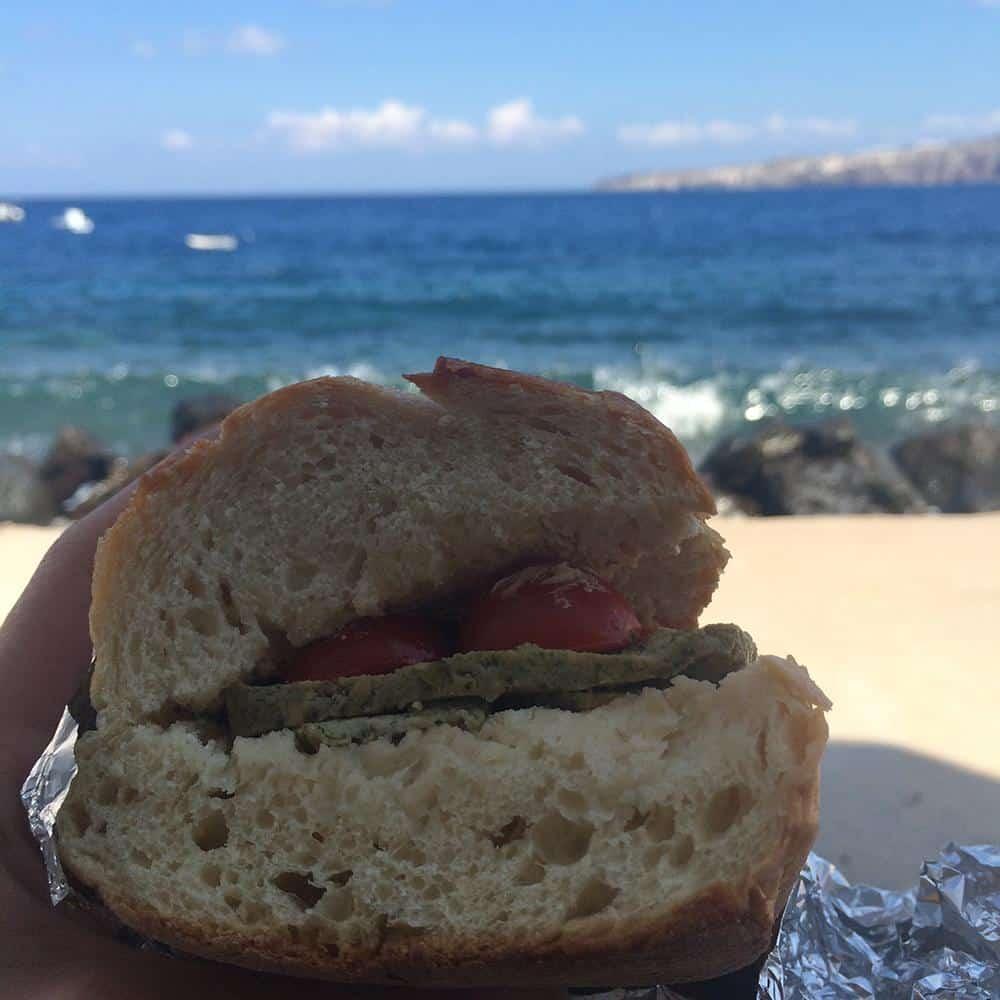 sandwich thirassia
