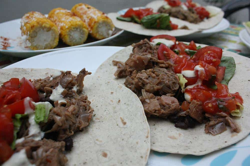 Taco-Off: Jackfruit vs. Hearts of Palm Vegan Carnitas (Pulled Pork) Tacos