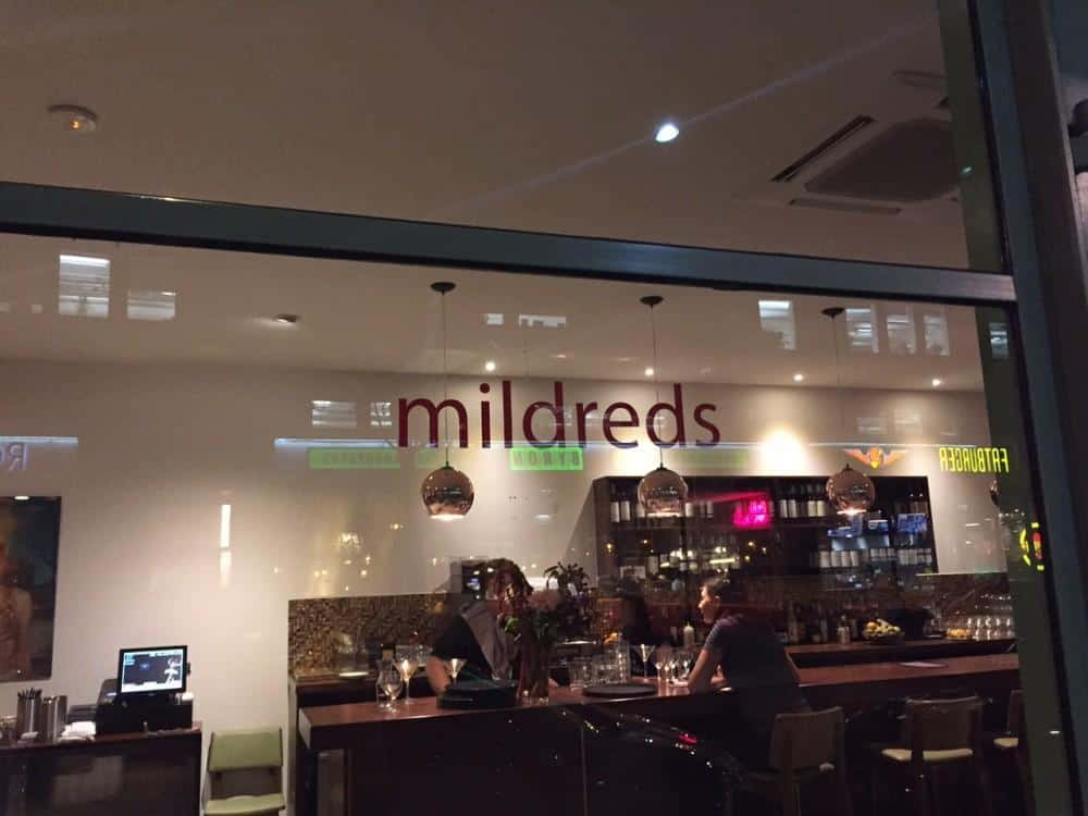 mildreds sign