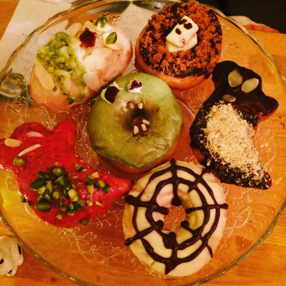 Vegan Halloween doughnuts, Let it Be, Berlin