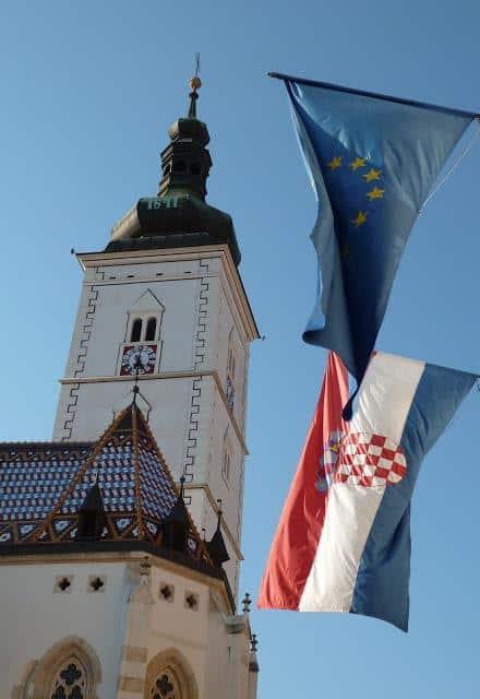 Zagreb, Croatia - Flicking the Vs