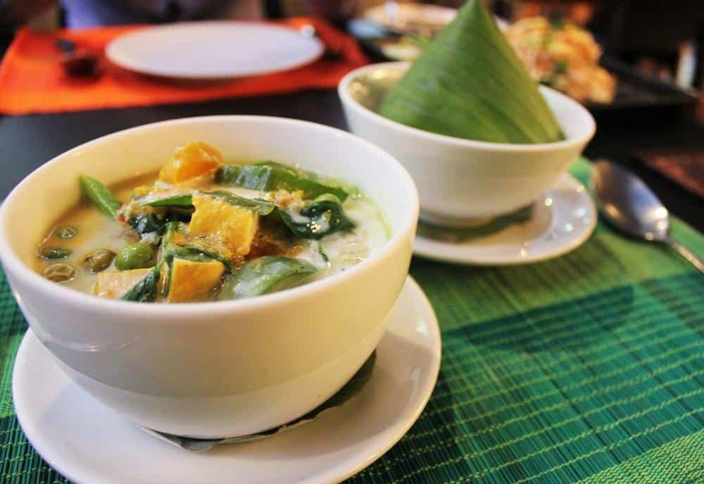 Fragrant Thai green curry Bangkok