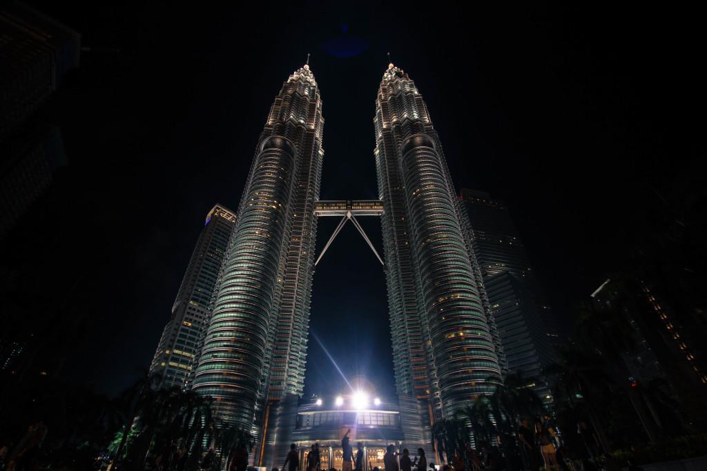 Petronas Towers, Malaysia (photo by The Caffeinated Vegan)