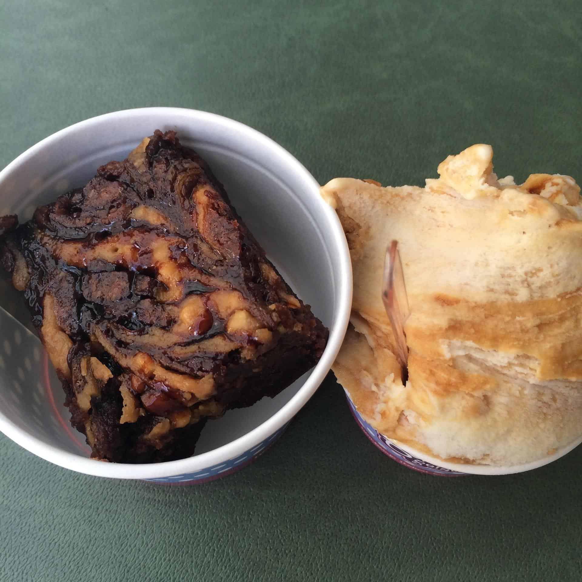 Peanut butter sea salt caramel, Boho Gelato, Brighton