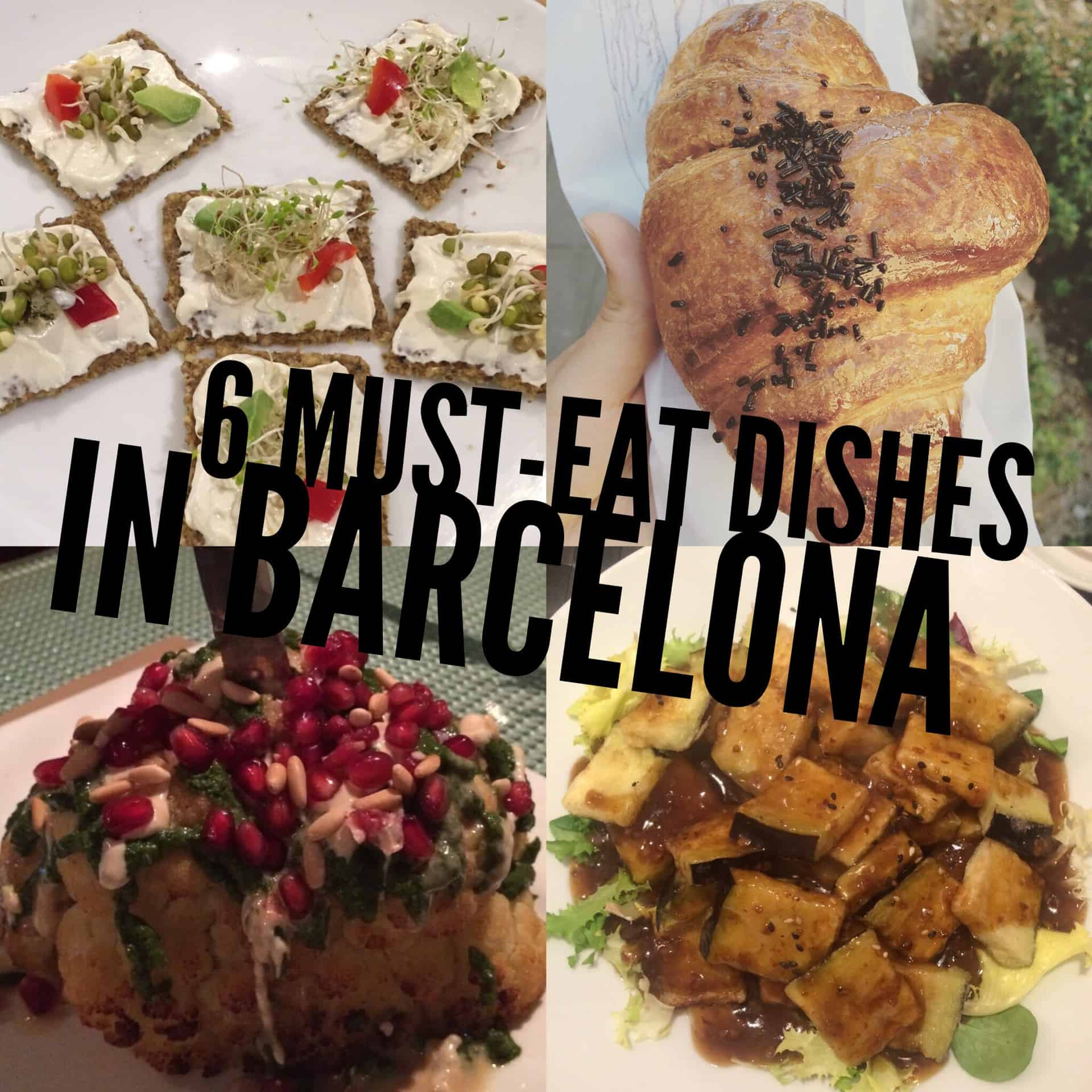 6 must-eat vegan dishes in Barcelona