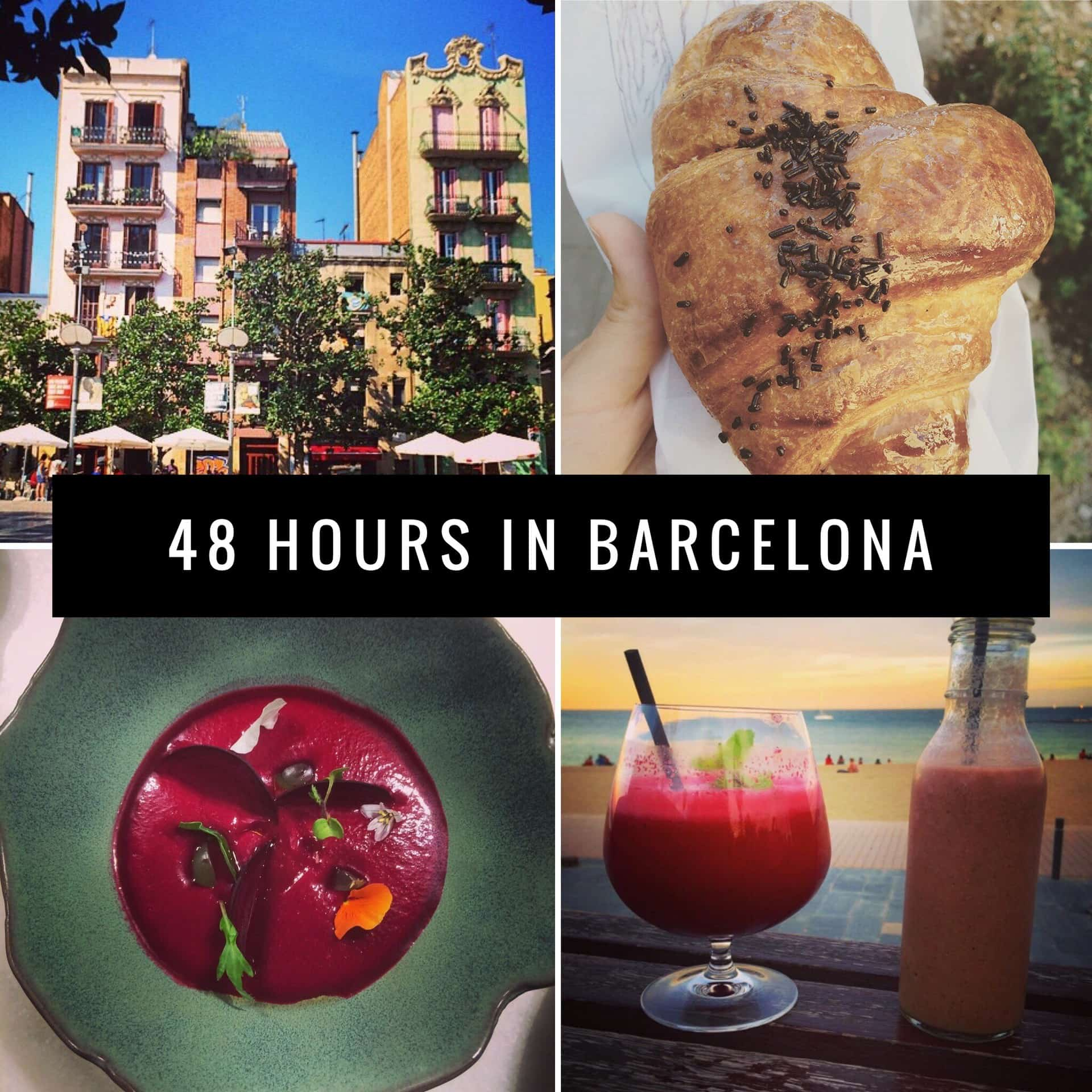 What to do in 48 hours in Barcelona