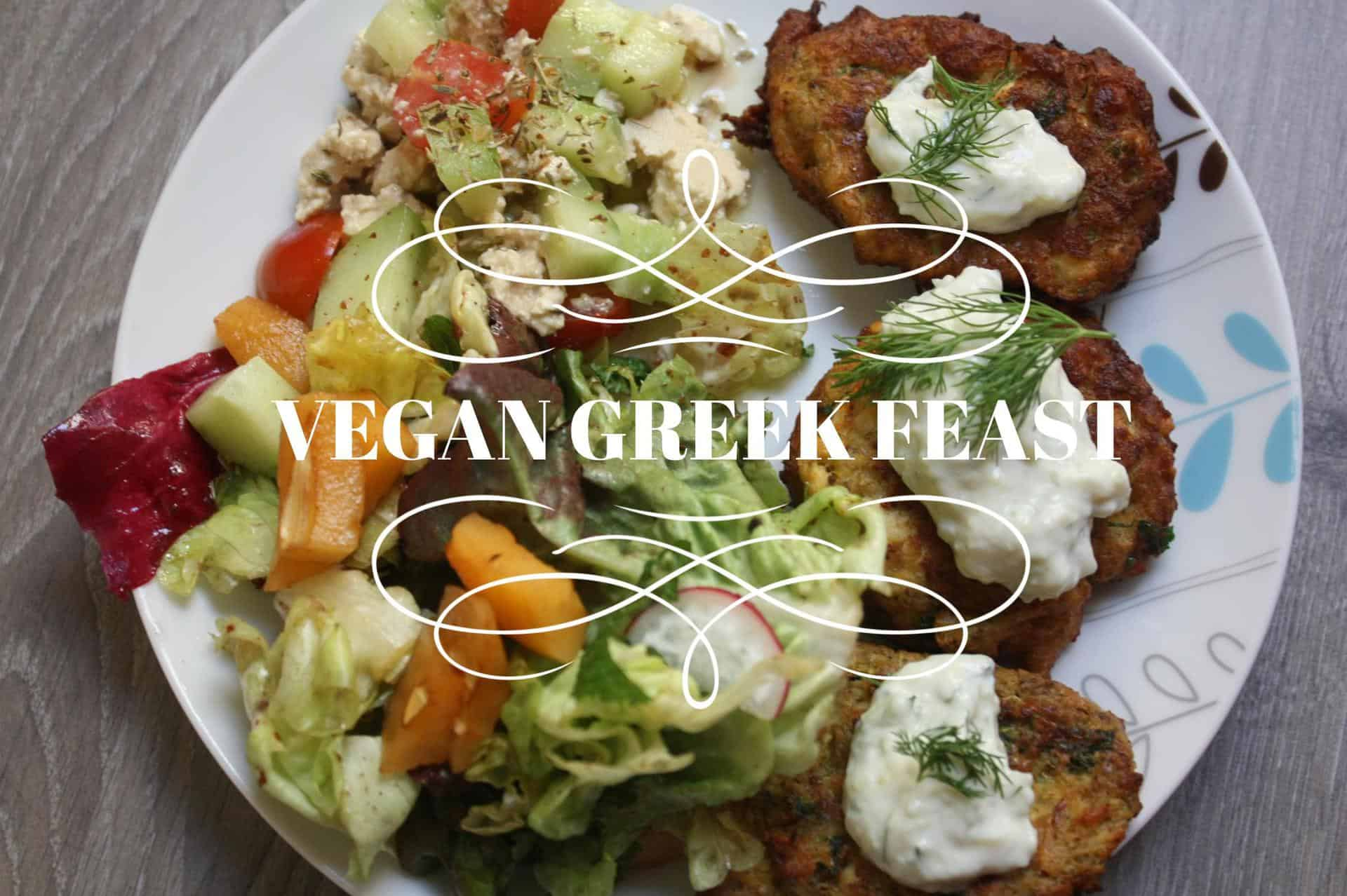 Vegan Greek Feast