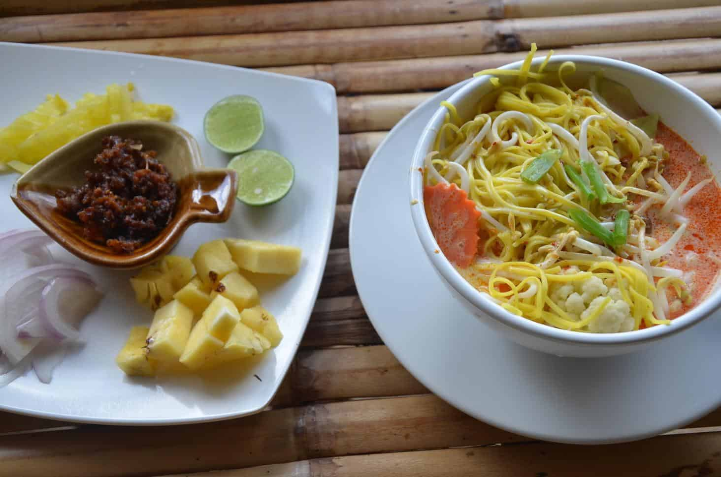 The amazing Khao Soi from the island of Koh Lanta, Thailand (Photo by Mindful Wanderlust)