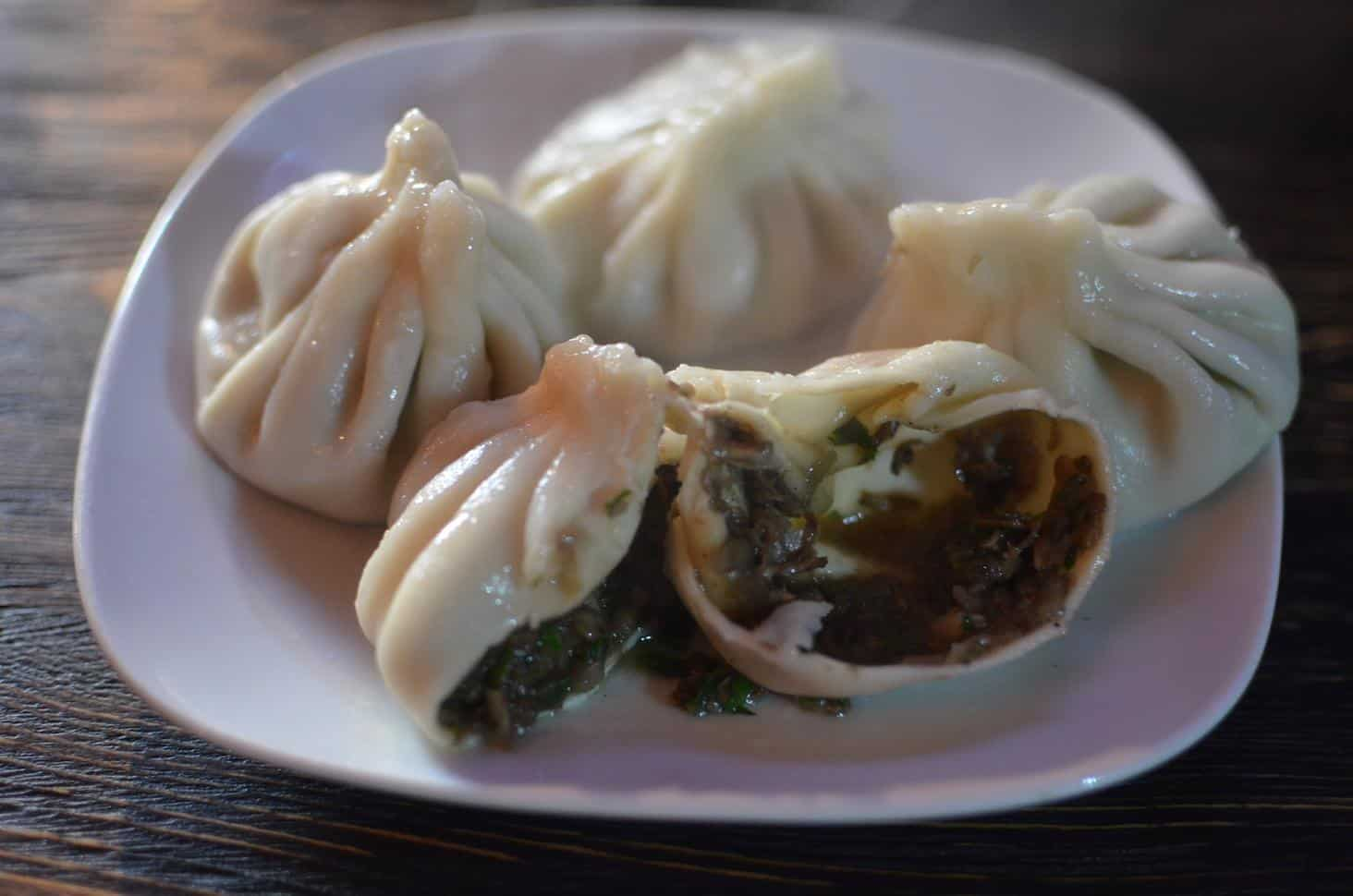 Mushroom Khinkali in Tbilisi, Georgia (Photo by Mindful Wanderlust)