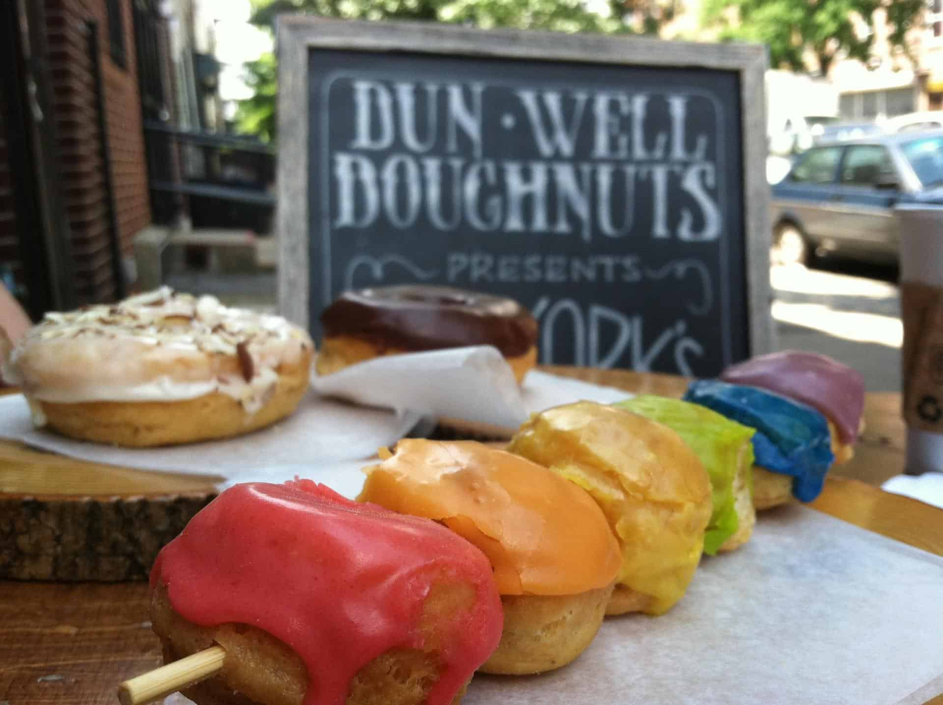 Dunwell doughnuts, photo by WTF Vegan Food