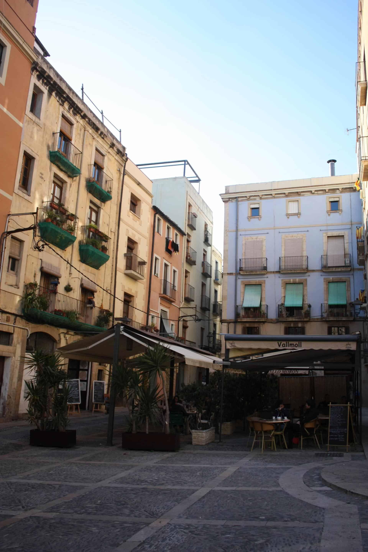 Square in Tarragona
