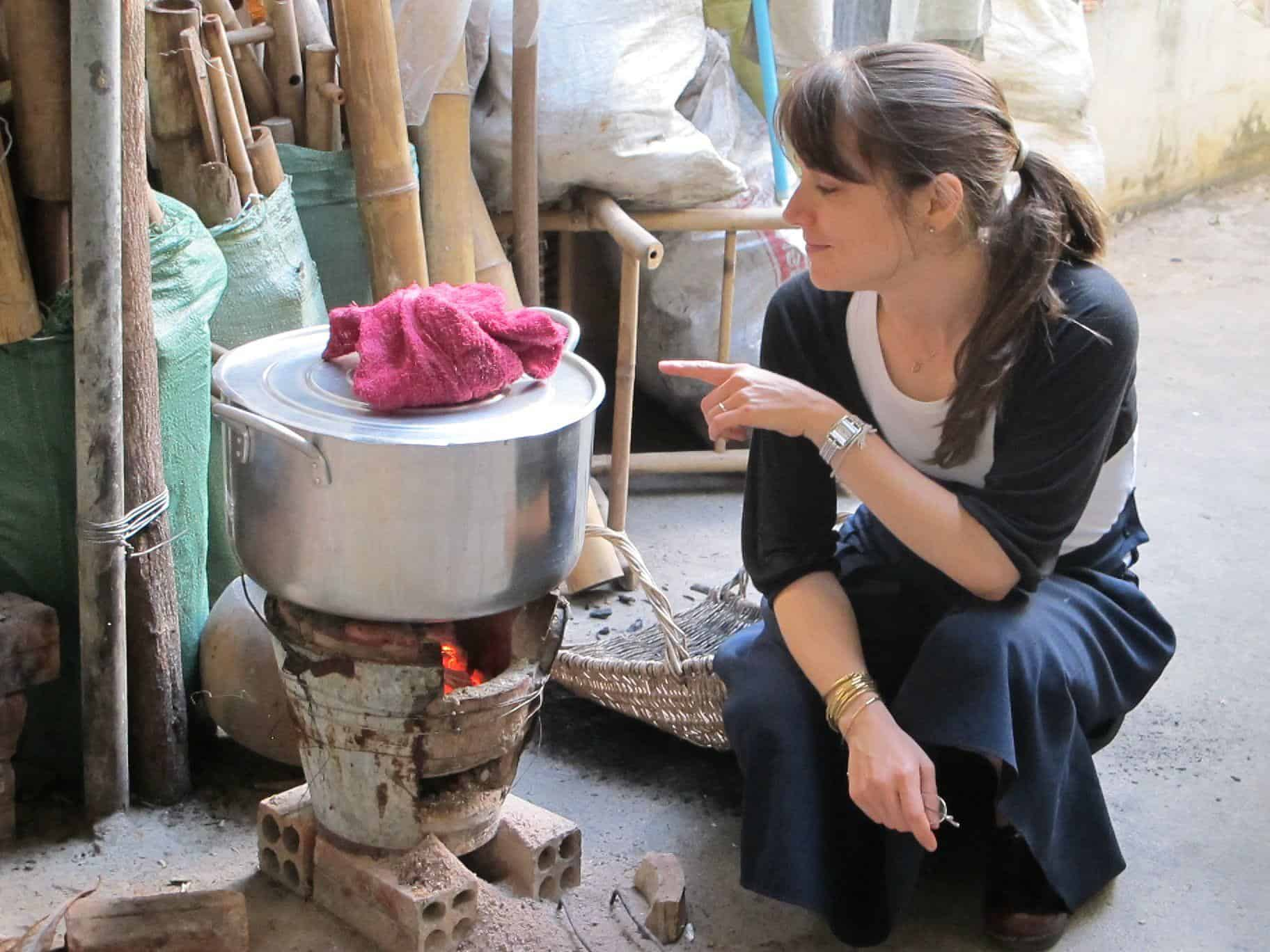 Local Kitchen in Cambodia, photo by Kenden of Jewish Food Hero