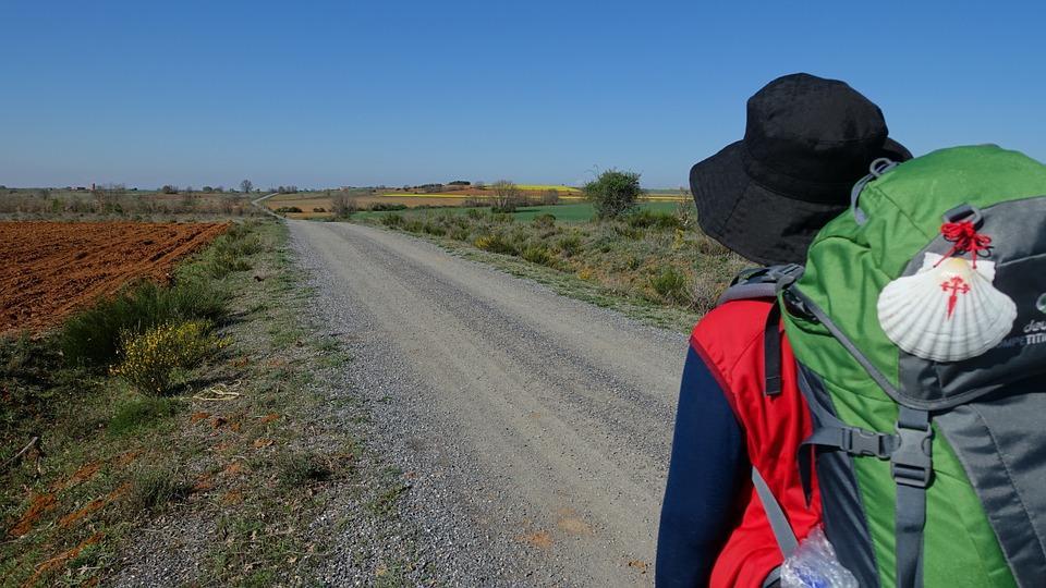 Vegan camino de santiago (rural Spain)