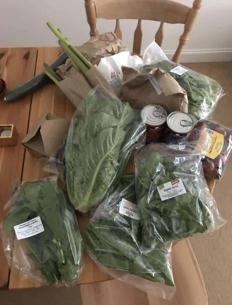 vegetables from Food Assembly