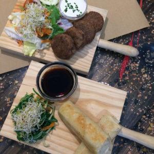 Vegan tapas - nontraditional tapas at Vegetalia