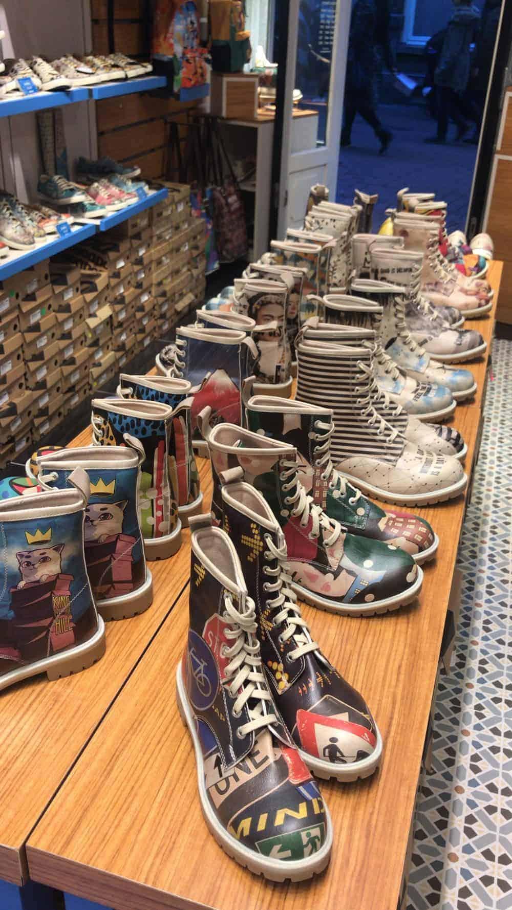 Dogo vegan shoes, Amsterdam