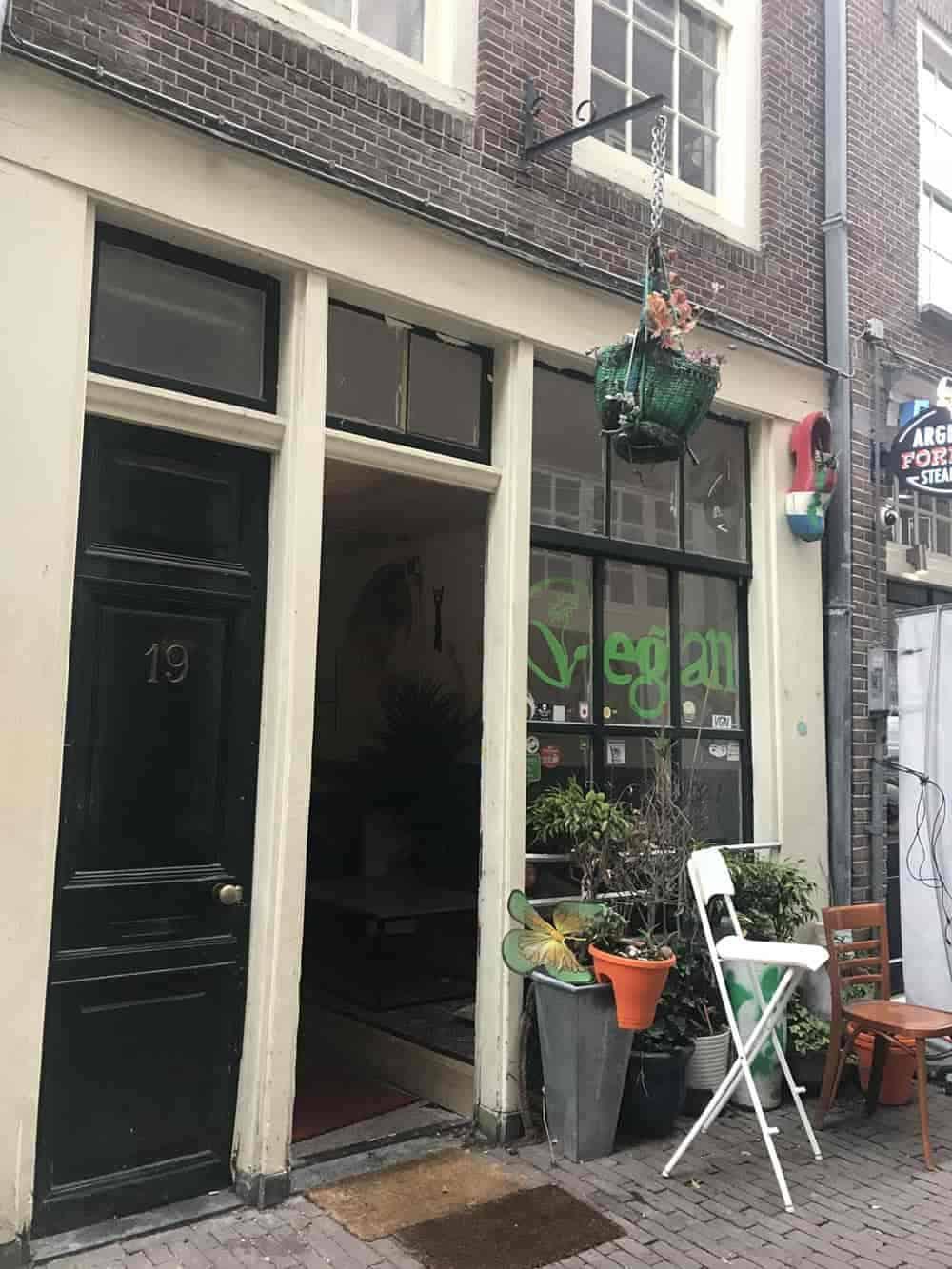 TerraZen vegan restaurant, Amsterdam