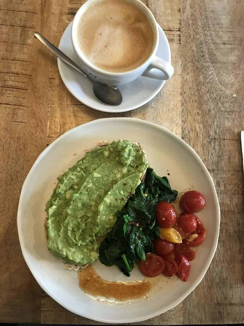 Vegan brunch at The Meets, Amsterdam