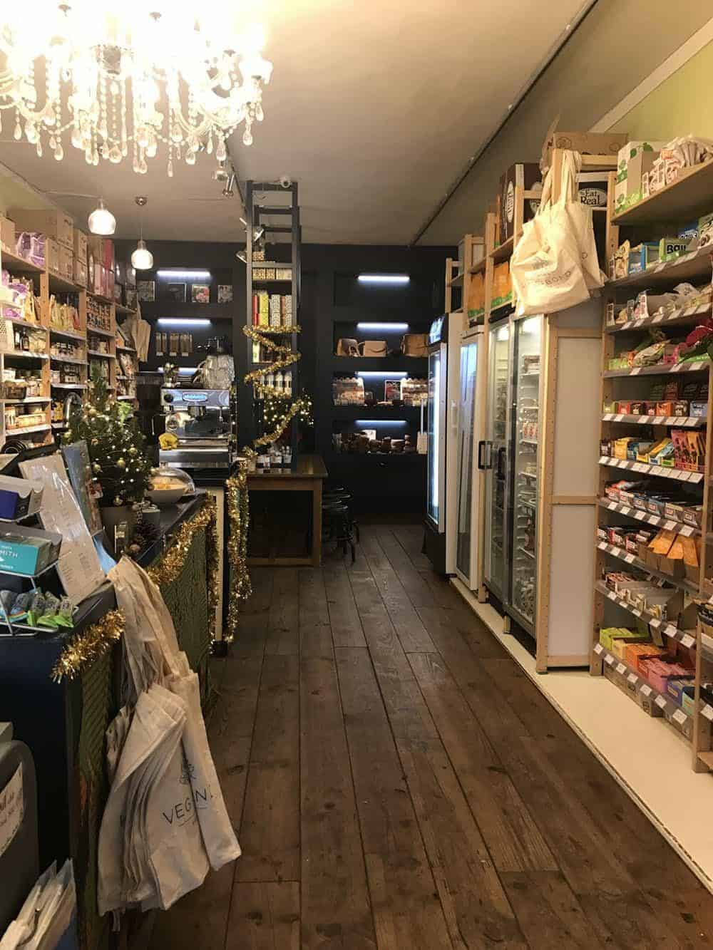Vegabond vegan store and lunchroom, Amsterdam