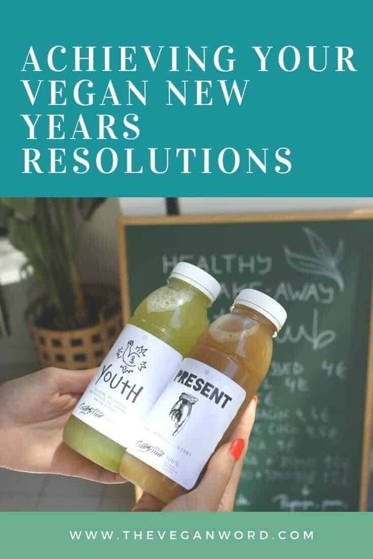 vegan new years resolution