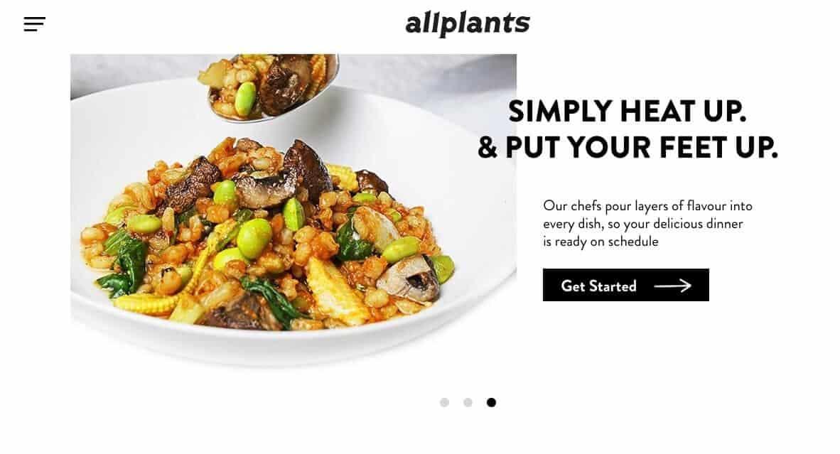 vegan box - all plants