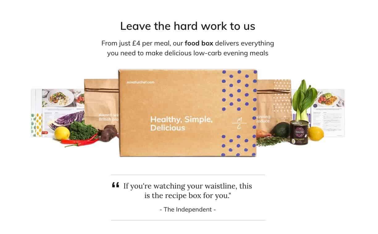 vegan box - mindful chef