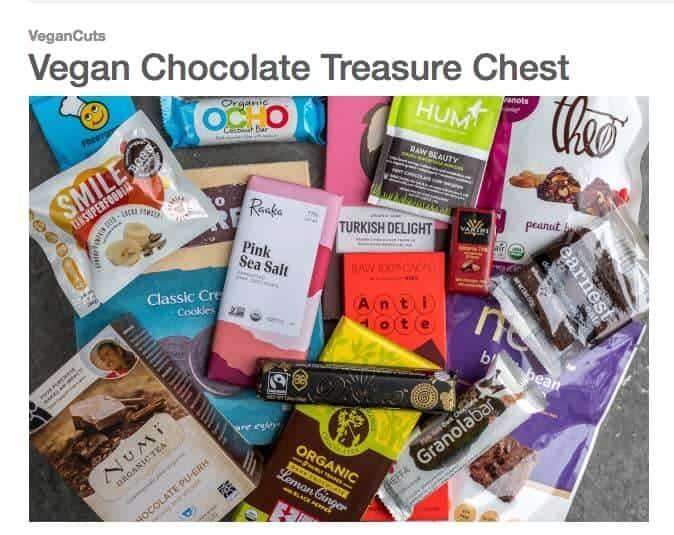 vegan box - vegan cuts chocolate box