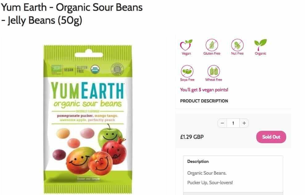 vegan easter eggs - jelly beans