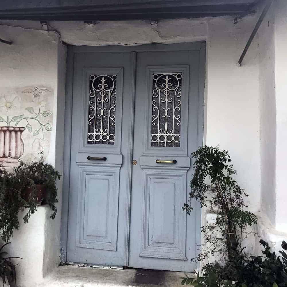 Door, Anafiotika, Athens