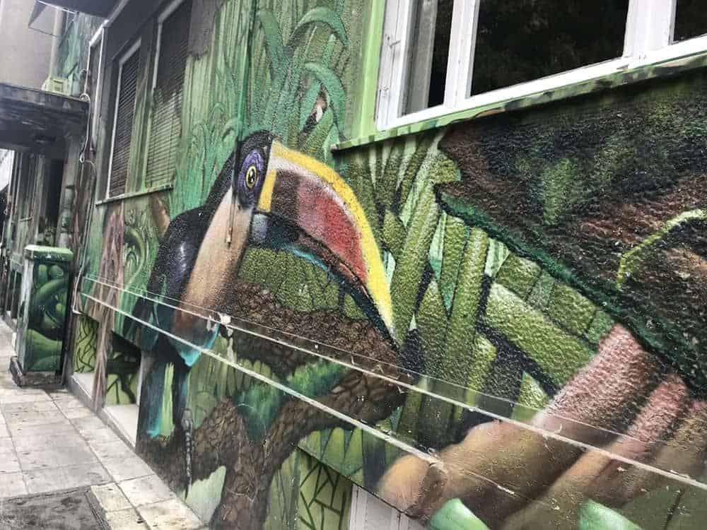 Street art in Exarchia, Athens