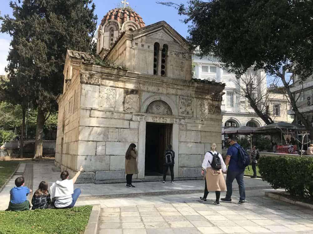 Byzantine church, Athens
