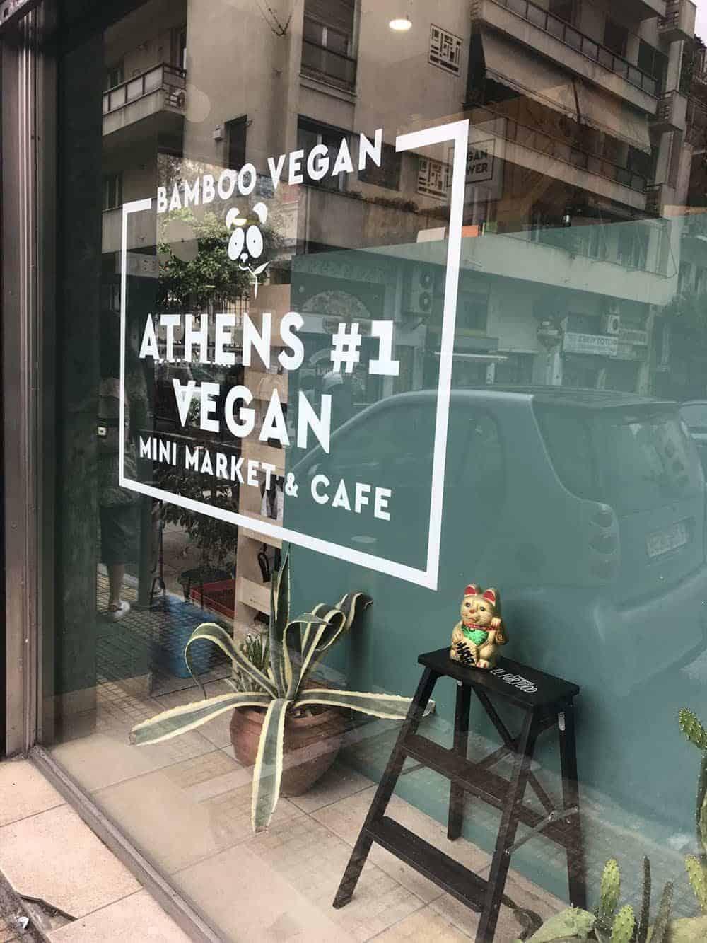 Bamboo vegan store, Athens