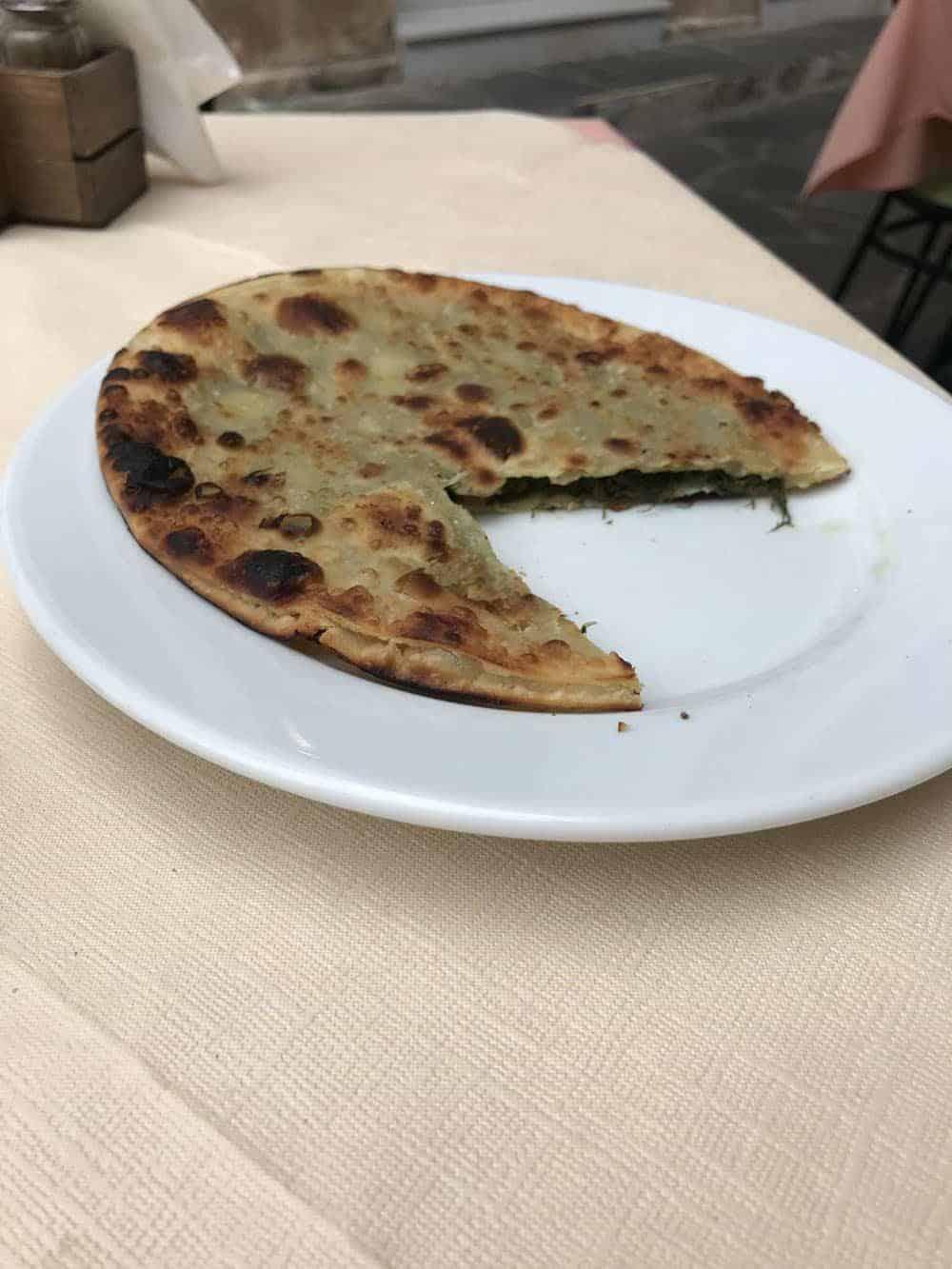 cretan pie, Aegina
