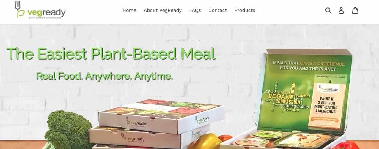 vegan food delivery - vegready