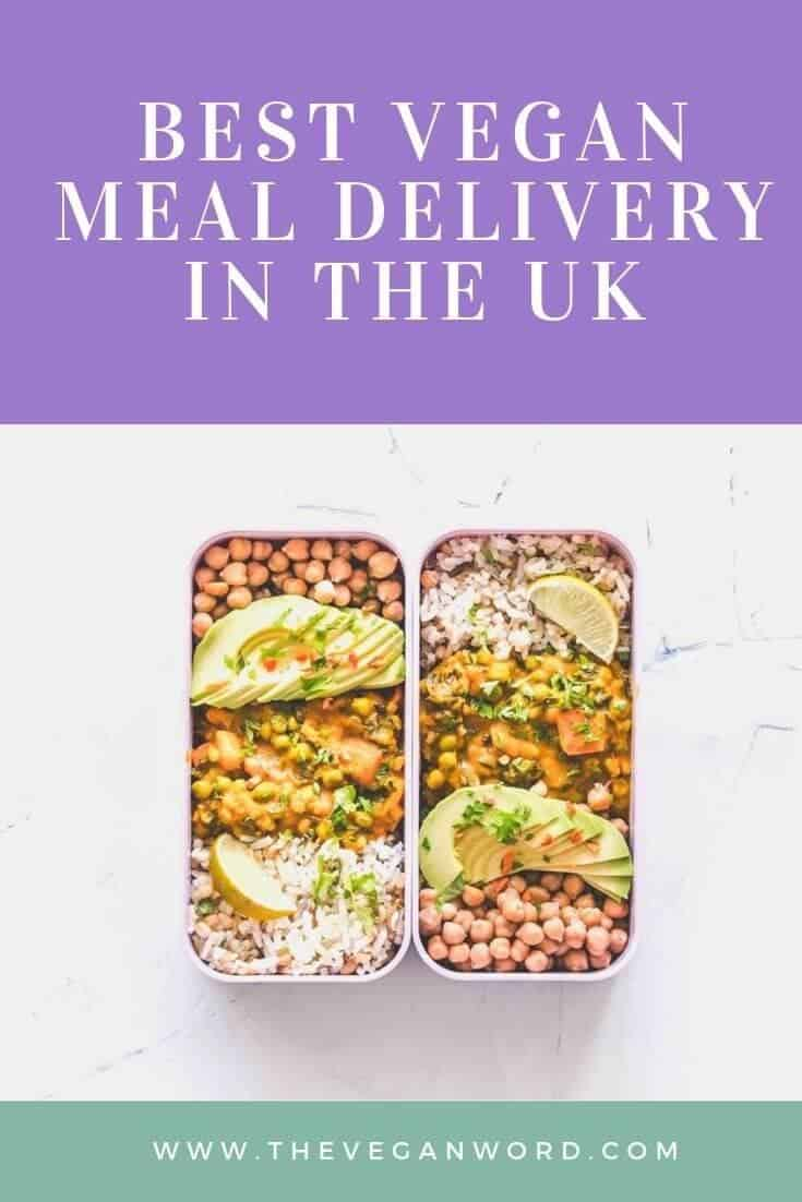The best vegan meal delivery services in the UK