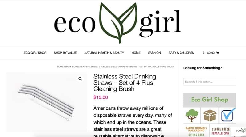 Bended metal straws